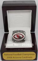 2008 Arizona Cardinals National Football Championship Ring, Custom Championship Ring, class ring, sport ring, free shipping
