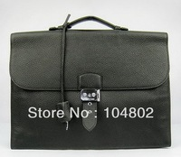 Brand Men's Sac Depeche Leather Briefcase Best Quality Clemence Leather Briefcase Luxury 1:1 Grade Brand bag Wholesale Price