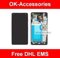 LCD+Touch Screen Digtizer Assembly With Frame for LG Optimus G E975 5pcs/lot free DHL EMS