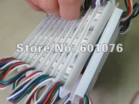 christmas lights led module 3 pcs led waterproof 5050 dc12v white/warm white lifespan>50000H CE ROHS 600pcs/lot