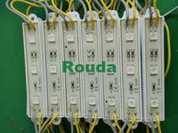 led module,5050 3 pcs led No waterproof dc12v RGB/Changeable lifespan>50000H CE ROHS 600pcs/lot