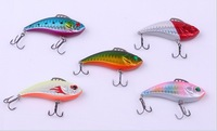60mm Vibration Jerk Bait Lures Sinking Lure Metal Fishing Lures 5 Colors DA0001
