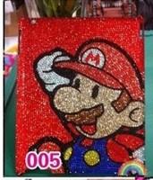 Beauty shipping tablet ip diamond paste Mario protective shell