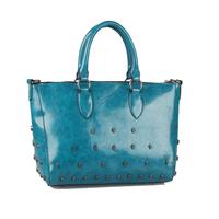 FREE SHIPPING! 2013 fashion skeletons women leather handbag colorful shoulder bag skull bag rivet chain bag women messenger bag