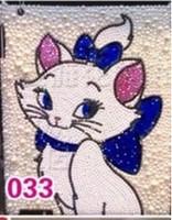 Beauty shipping tablet ip diamond paste Elegant protective shell cat