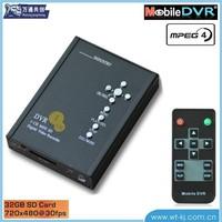 1-ch high-definition mini SD card DVR to full D1 MPEG-4 video recorder mini DVR Mini DVR