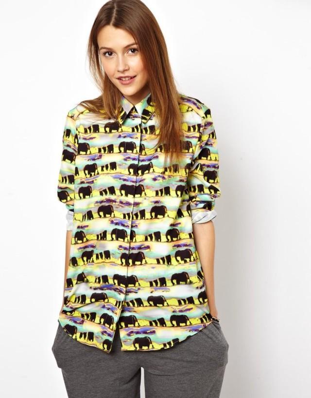 African Print T Shirts New-Winter-Women-s-Afr...