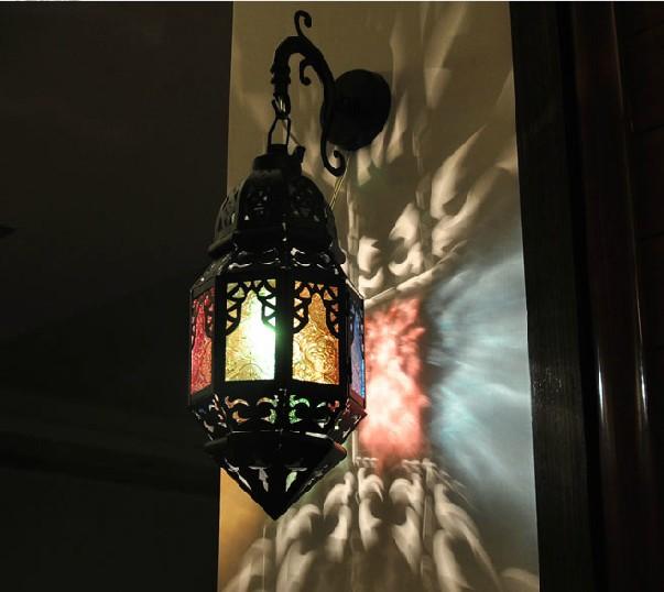 Marokkaanse wandlampen koop goedkope marokkaanse wandlampen loten van chinese marokkaanse - Deco muur corridor ...