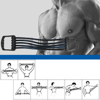 Body building and Fitness Equipment Chest Expander Pull Exerciser Strength Training for man