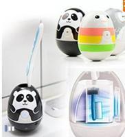 Cute UV Toothbrush Sterilizer UV Light Toothbrush Sanitizer and Holder