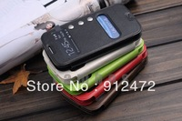 Double Window view Case Leather Flip Stand Cover Case for Samsung Galaxy S3 i9300, with Free Screen Protector