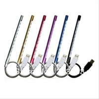 Free Shipping Hot Portable 10 LED USB Light Lamp Flexible For PC Computer Notebook Laptop Bulb