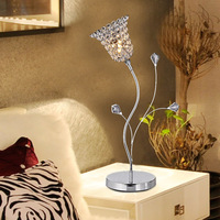 Modern brief k9 crystal decoration table lamp art lamp ofhead frtl t11