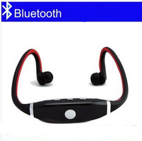 Hot Sale Double Sports Wireless Headset Bluetooth Motion Stereo Headphone for Pad Phone Laptop MP3/4 +Package Free Shipping