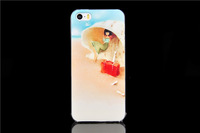 Fashion cute girl sexy lady painted Design case for iphone 5 5s 5g high quality Wholesales