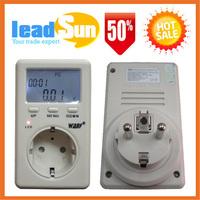 EU Plug Power Watt Volt Amp Energy Meter Analyzer with Power Factor