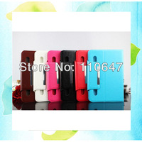 "7"" Universal Tablet Sucker Flip Leather Case Magnetic Cover For Ainol Novo 7 AW1 AX1 EOS Rainbow Crystal etc 5PCS Free Shipping"