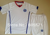 wholesales 2014 world cup chile Alexis home  blue soccer jerseys  soccer uniform shirts + shorts good quality free shipping