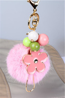 Hot selling Fashion Wool bags pendant women's plush ball bags hangings  key chain