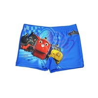 Wholesale Children Kids Boy's Trunks Cartoon Thomas Trunks Short Sport Pants Bathing Costume for Boys 2-7y Free Shipping
