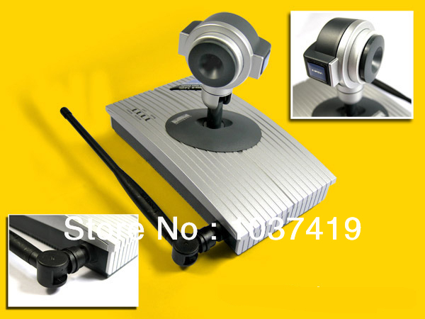 1pcs 2.4 G remote control wireless IP network camera Pan Security WIFI Webcam 90 -310 degrees c)(China (Mainland))