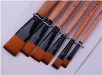 6 a NLYON hair paint brushes artist brush school supplies