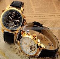 2013 brand watches, JARAGAR mechanical watches tourbillon dual calendar watches, men's watches.