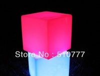 Hot led furniture LED cube Chair bar stool D243mm*H140mm