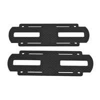 F06038 X450 2MM 3K Carbon Fiber Battery Holder Plate Color Black + freeshipping