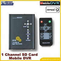 1-CH D1 full real-time SD Card Mobile DVR car video recorder car video recorder TAXI