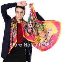 New Arrival Fashion Oversize 140*140cm Kerchief Scarves & Warps & Shawls, Joker Elegant Colorful Scarves for Women