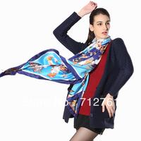 All-match joker fashion scarf, 100% quality mulberry silk twill scarves for fashion women, square shape 90cm or 140cm shawl