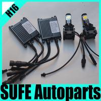 2013 2PCS/set 50W H16 LED HeadLight 1800LM Black High Power LED Driving Light Bulbs Truck 1512 Car 12V CREE led Head Lamp 6000K