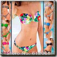 lady sexy bikini swimwear bathing suits bikini push up swimsuit for women with pad hot sale new for 2014 A01192