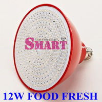 New Arrival+Hot Sale!Supermarket Food Fresh Lighting Meet Fresh LED Lighting Bulb 12W E27/E40 Base AC85-265V 1PCS+ Free Shipping