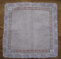 Handmade cutout handmade lace handkerchief