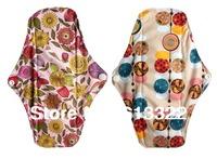 Waterproof PUL Menstrual Pads Super Absorbency Bamboo Cloth Pads Reusable