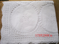Cutout table cloth crochet bed cover leptonema handmade hook tablecloth fashion