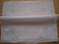 Handmade hemp handkerchief