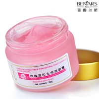 Rose mild whitening exfoliating gel 50g body facial scrub cream exfoliating M.G.wrap