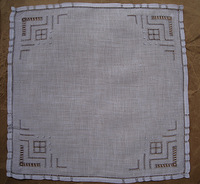 Exquisite handmade blank holder cutout male handkerchief elegant brief