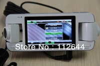 2013 NEW ARRIVAL F80 (All winner) 3 cameras-360 wide angle, 2.7 LTPS screen size, Night vision G Sensor+GPS DVR