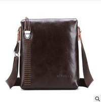Sell like hot cakes! Leather authentic men's single shoulder bag leisure male han edition men's messenger bags fashion bags