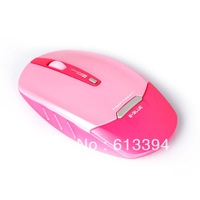 Pink E-3lue E-Blue Horizon 1750 DPI 2.4GHz LED Mobile Wireless Mouse