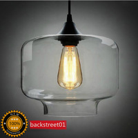 New Modern Contemporary Clear Color Glass Ball Pendant Lights Pendant Lamps for home Indoor Lighting Fixture F