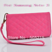 Deluxe Leather Wallet Cases for Samsung Galaxy S4 i9500 S3 i9300 Fashion Leather Cover Purse for Samsung Galaxy s3 s4