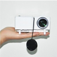 New arrived White uc28 Mini LED Projector Home Cinema Theater AV VGA USB SD HDMI professiona home projector