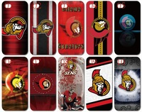 Hot sale!!!new skin ottawa senators design white hard back cover case for iphone 4 4th 4S 10PCS/lot +Free shipping