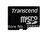 100% Original   Transcend  MicroSD 2G memory card   Free Shipping