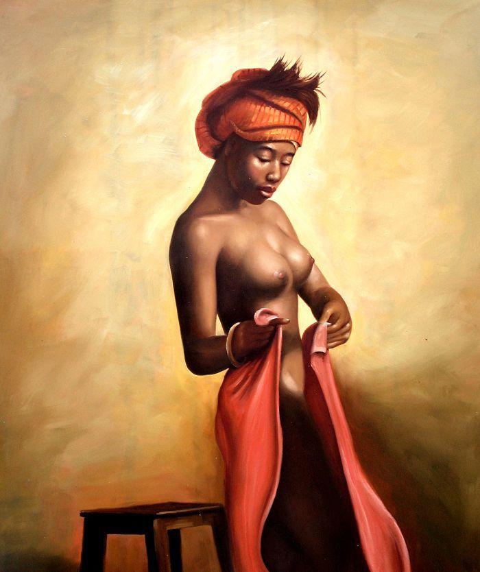 Nude African American Art 70